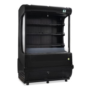 Refrigerador cortina de aire Imbera color negro de 23 pies- VRA-23