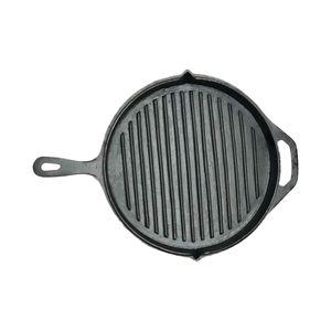 Sartén Grill de Hierro Fundido JCE Hierro Fundido de 28 cm color Negro- JCE037