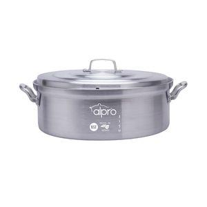 Budinera de aluminio Alpro Silver Gourmet de 50cm- 3150