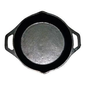 Sartén con Asas de Hierro Fundido JCE Hierro Fundido de 20 cm color Negro- JCE033
