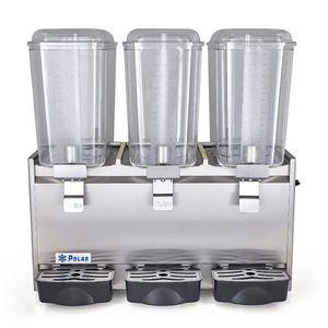 Dispensador de Bebidas Polar con Tres Tazones - DB-18x3