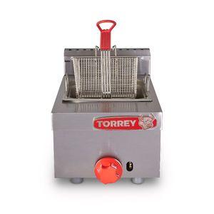 Freidora sobre mesa de gas Torrey de 4 litros- FRG-4