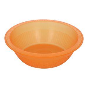 Plato Bowl Diny color Naranja clarificado de Plástico