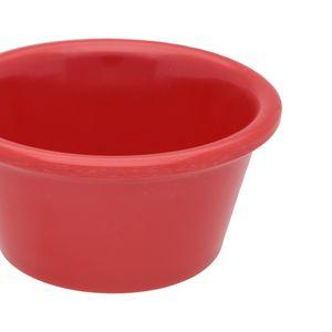 Docena de ramekins liso de melamina Thunder Group de 73.9 ml color rojo- ML536PR1
