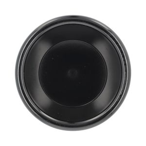 Docenas de ramekins liso de plástico Thunder Group de 118.29 ml color negro- PL538BL1