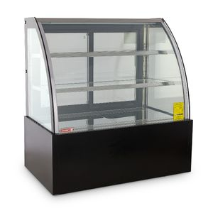 Vitrina refrigerada Full Glass Curva Torrey de 150 cm- VFG-150C